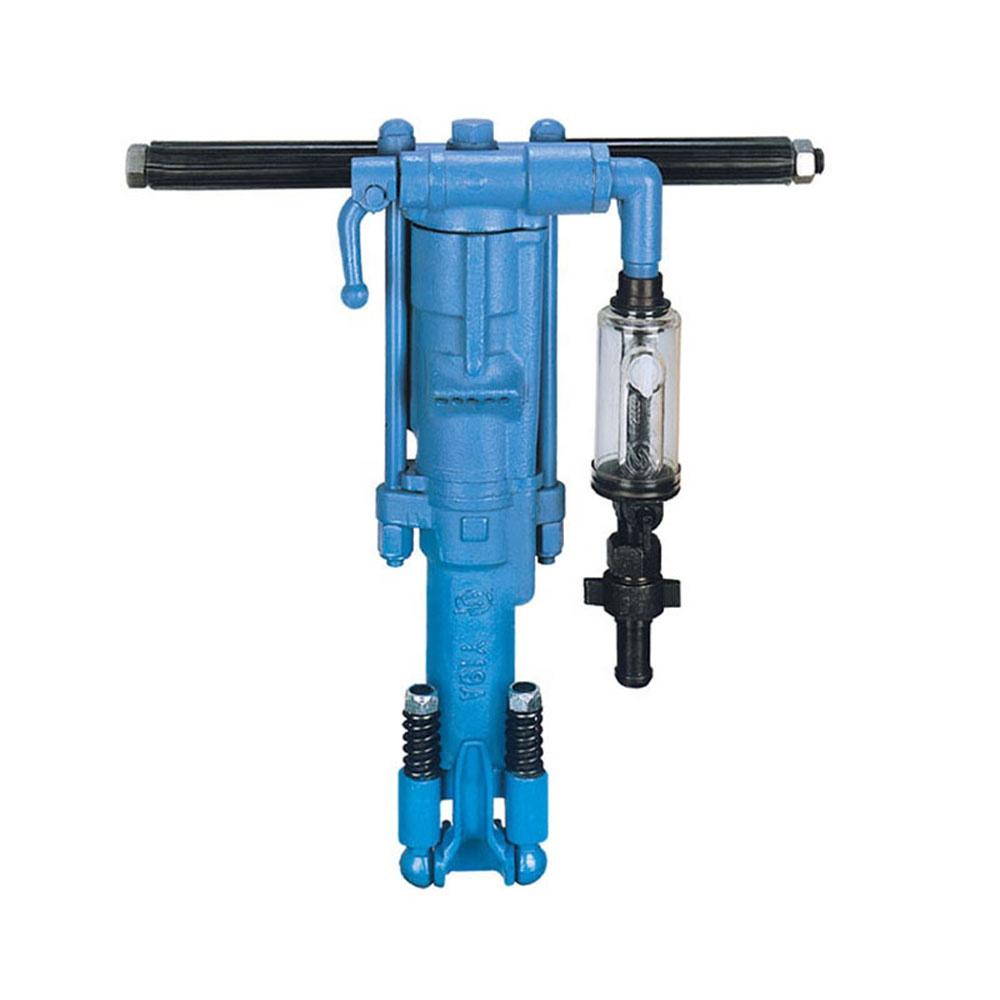 Portable Hand Held Rock Drilling Machine/Air Leg YT24 Rock Drill