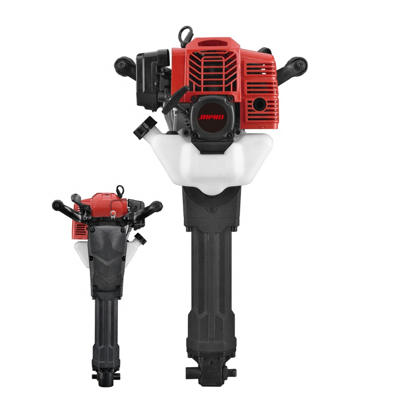 JH-95 gasoline jack hammer portable powerful hand hold drill 52cc two-stroke