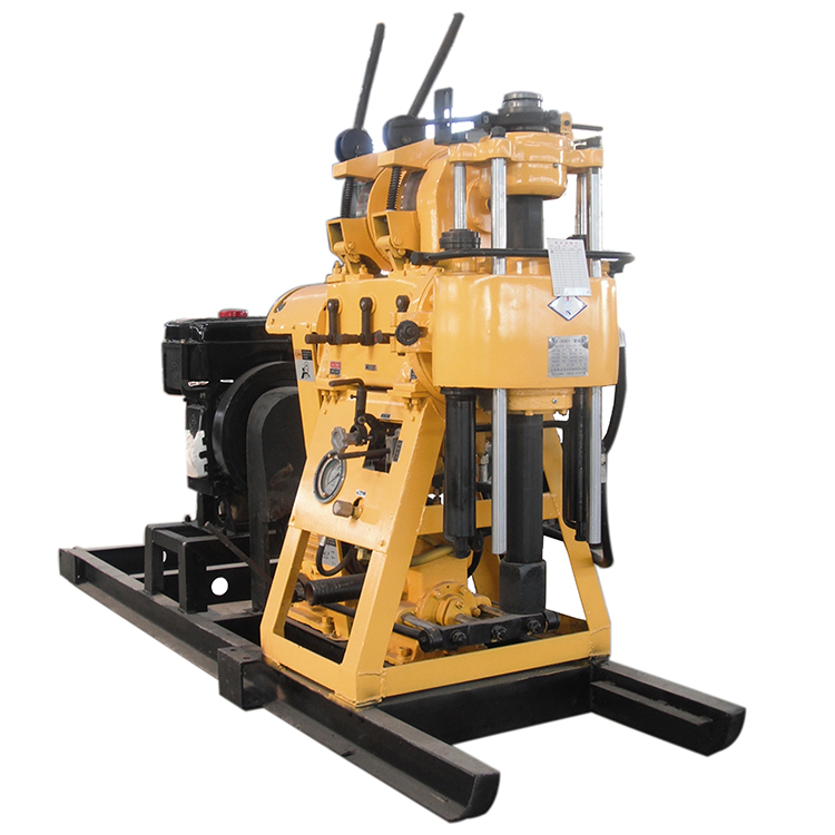 xy-200 Diesel Engine Rock Drilling Machine Water Well Drilling Rig