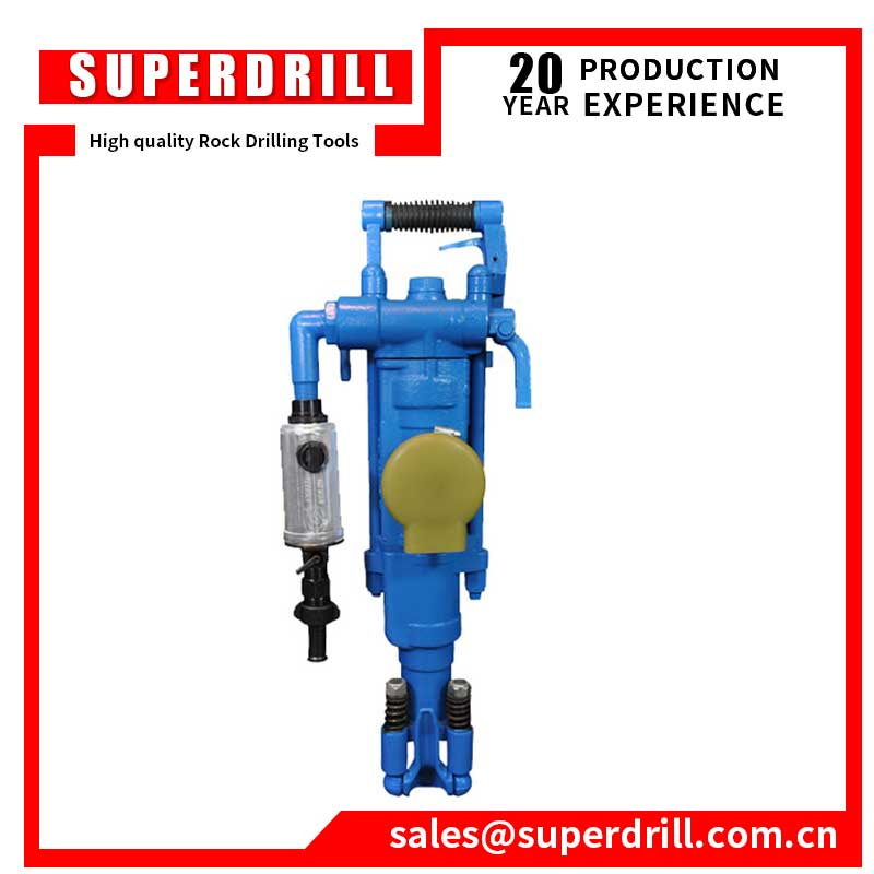 YT27 air leg rock drill