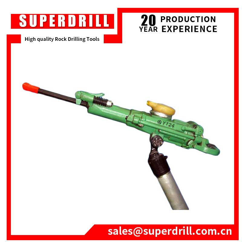 YT24 air leg rock drill