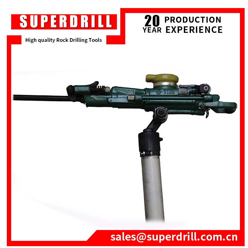 YT28 air leg rock drill