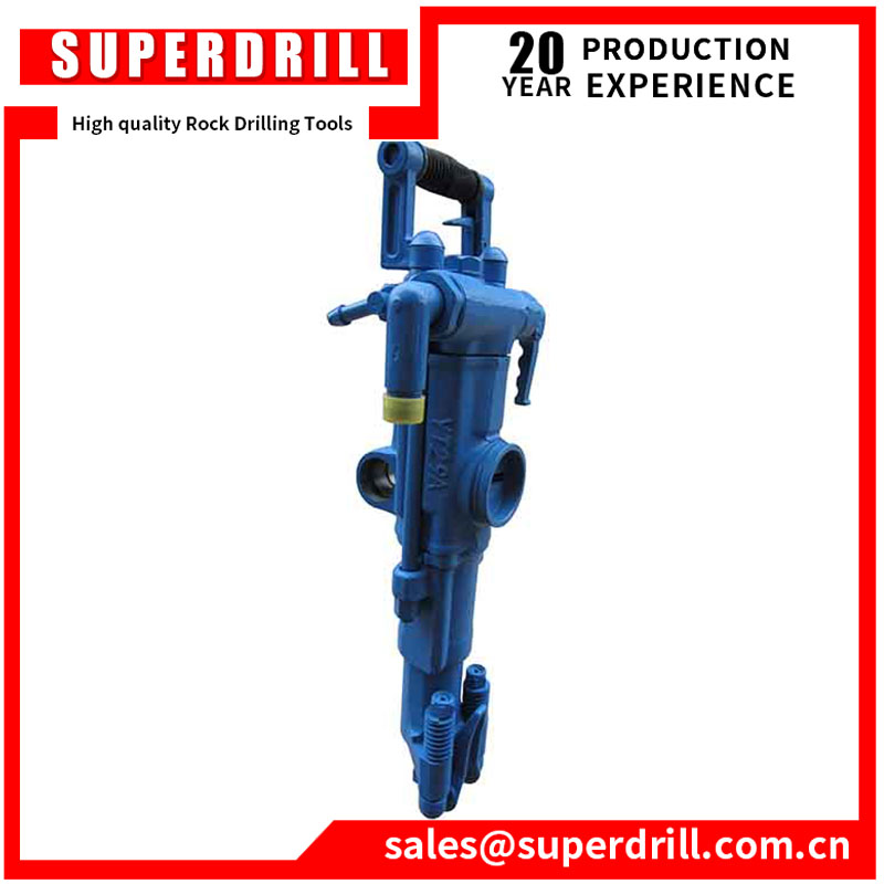 7655 air leg rock drill