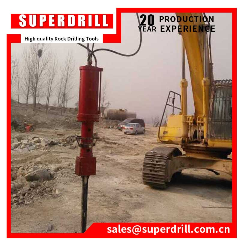 Big Hydraulic Rock Splitter for Excavator