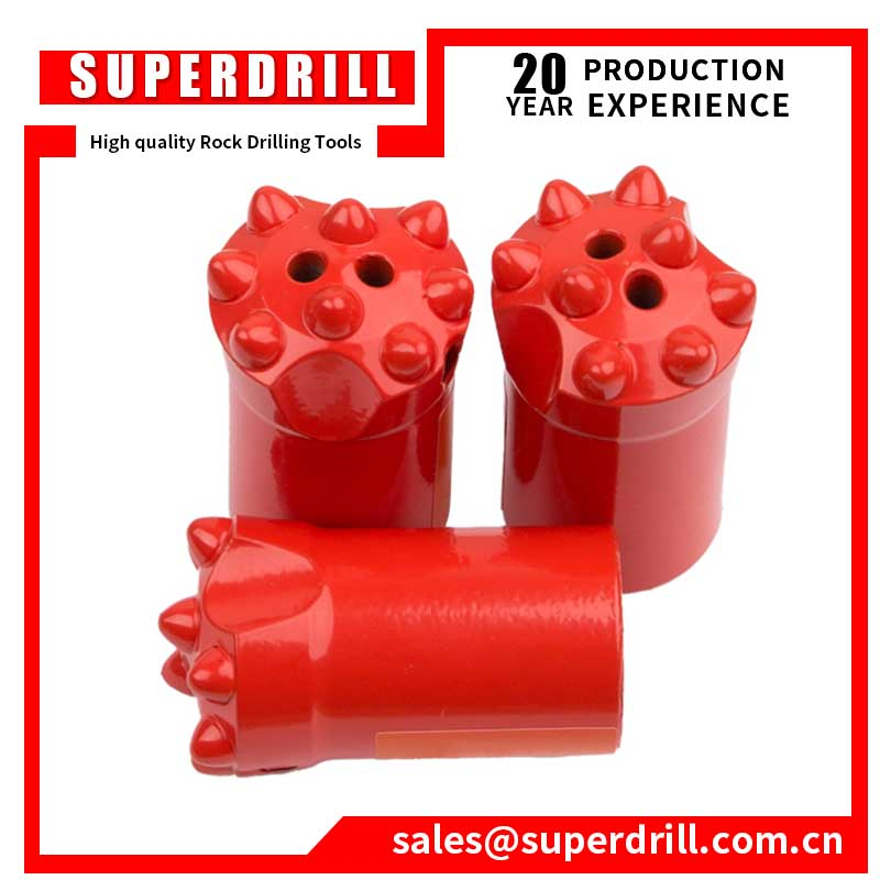 32mm and 34mm Tungsten Carbide Taper Drill Button Bit for Stone Quarrying