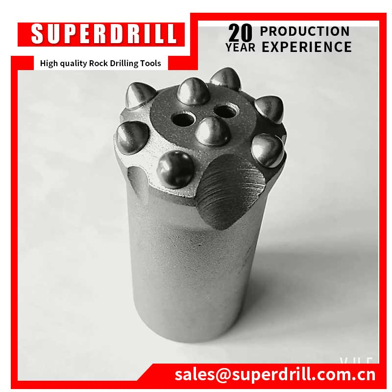 34 mm 8 button 12 or 7 degree taper button bits high quality bits core drill bit