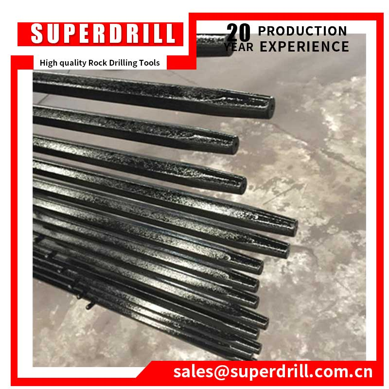 Customized Size Steel Taper Drill Rod 7 Degree