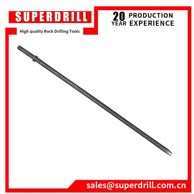 7 degree rock drill mining tapered drill rod