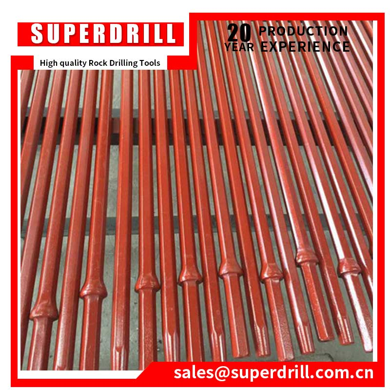 China Rock Tools Tapered Drill Rod