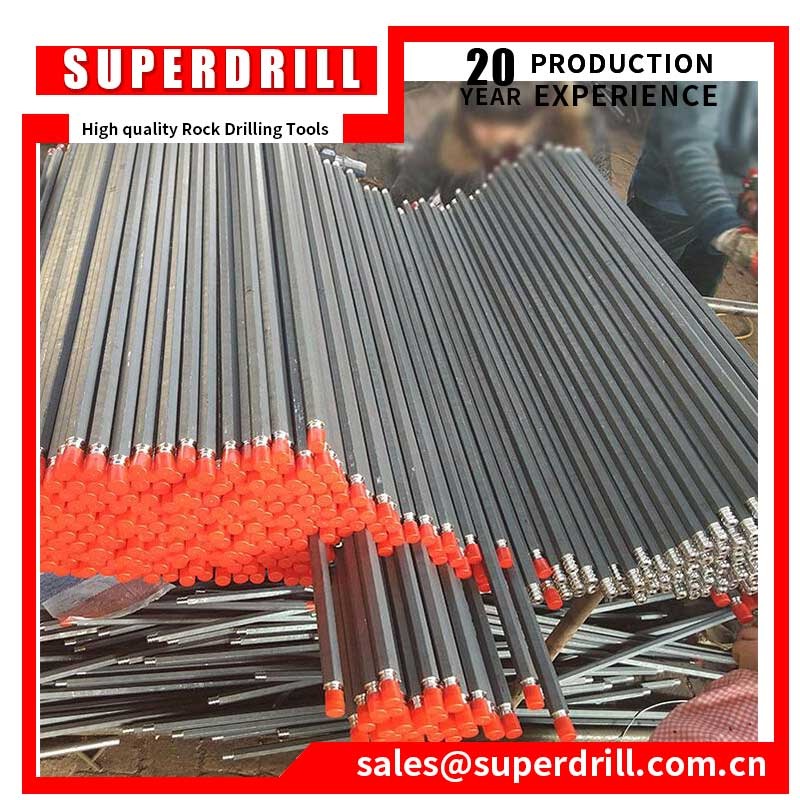 Forging Type Blast Hole Tapered Rock Drill Rods