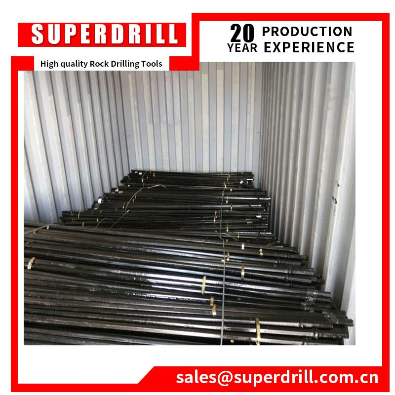 Manufacturer Rock Drill Tools Hex22 Tungsten carbide Taper Drill Rod
