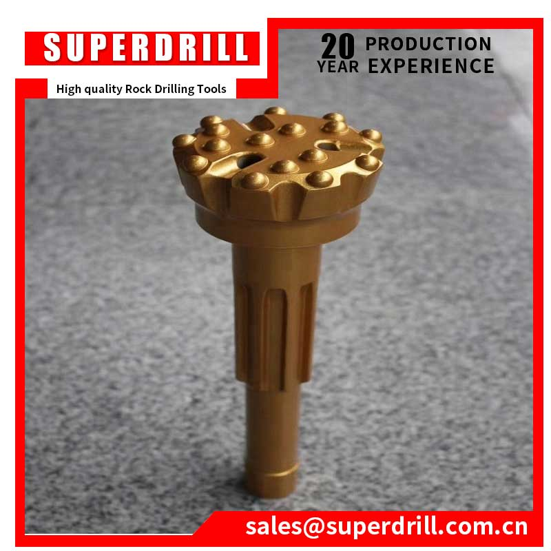 Drill Spare Parts Top Hammer Drop Center Face Thread Button T45 Rock Drill Jack Hammer Bit